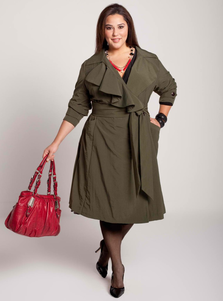 Plus Size Trench Coat | WardrobeMag.com