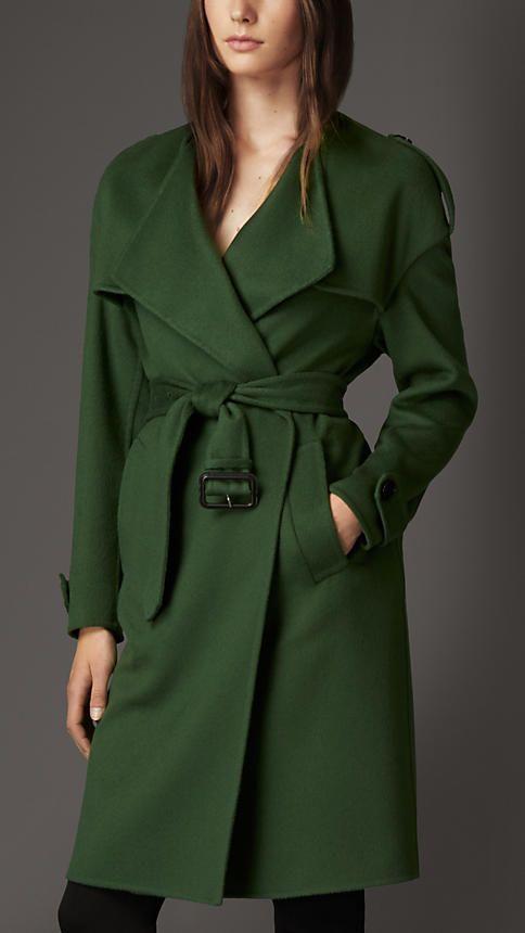 Green Trench Coat Wardrobemag Com