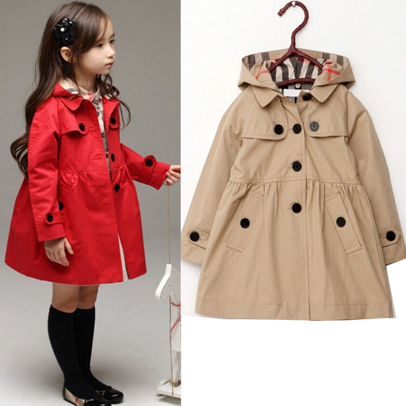 66fd5d153 Girls Trench Coat
