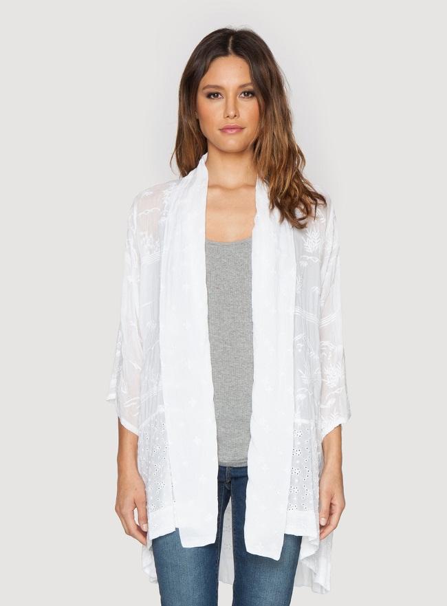 Plain Kimono Cardigan