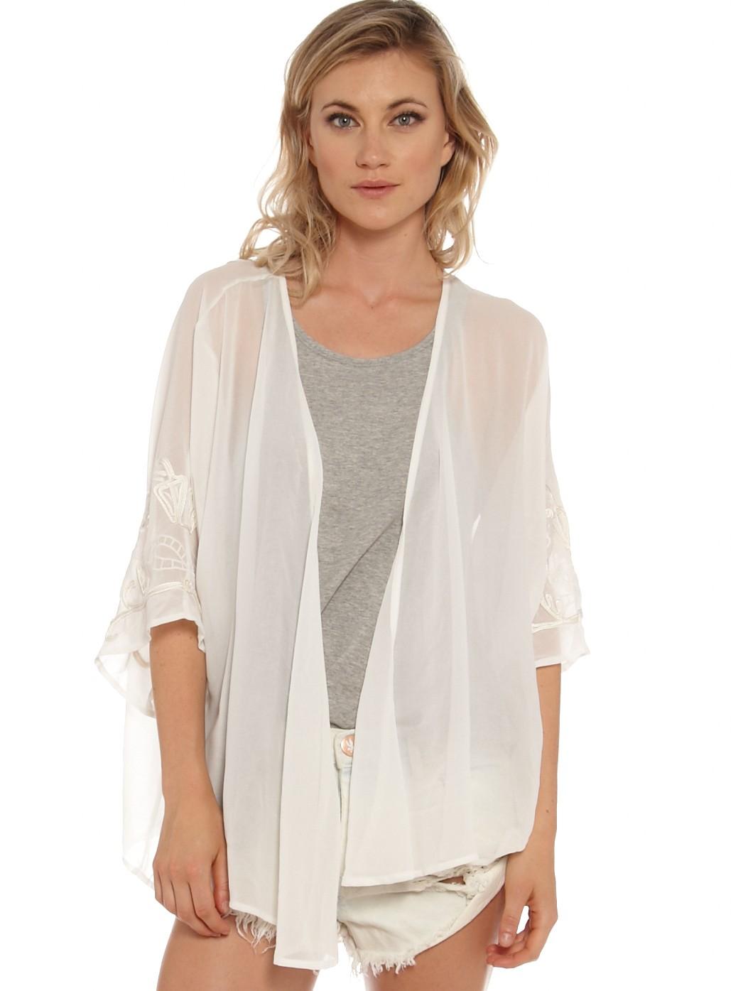 Silk Kimono Short