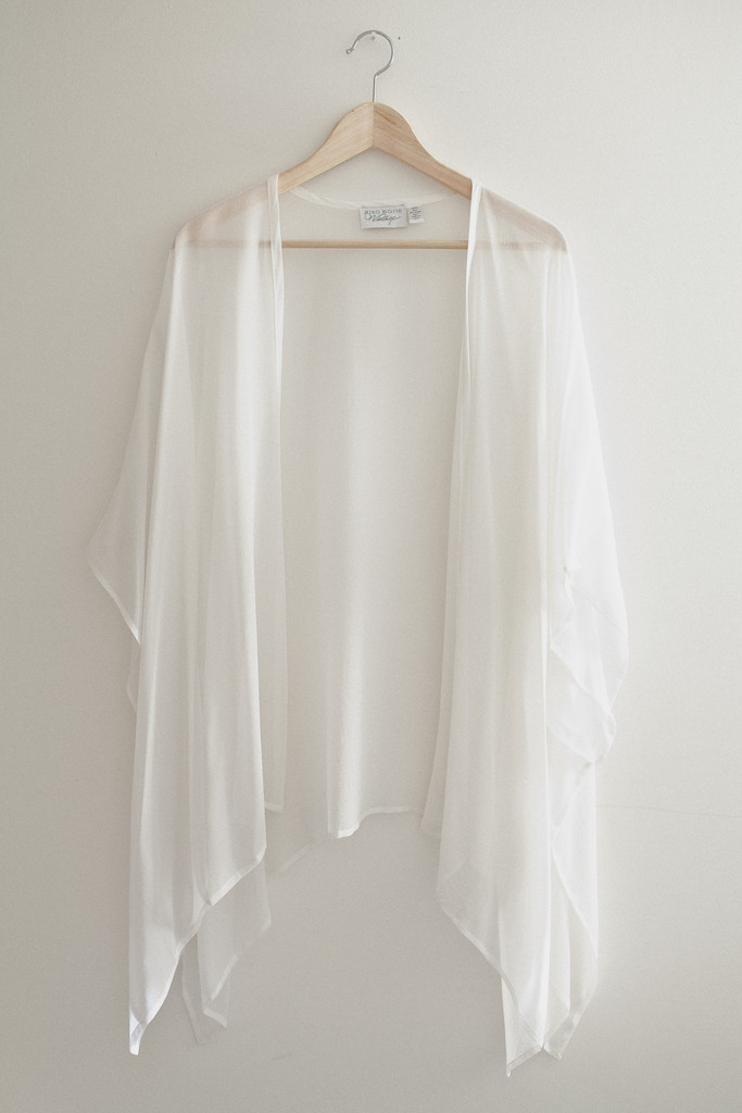Long Sheer Kimono Cardigan