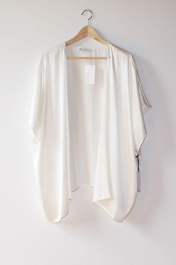 White Kimono Wardrobe Mag