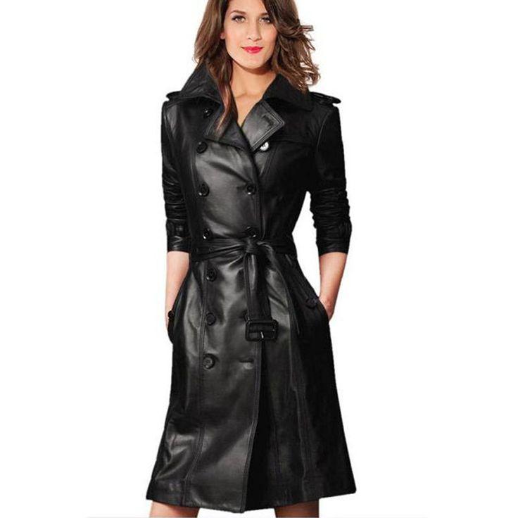 Women S Long Trench Coat Wardrobe Mag