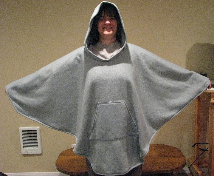 Fleece Poncho Wardrobemag Com