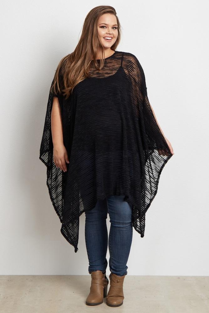 Plus Size Poncho Wardrobe Mag