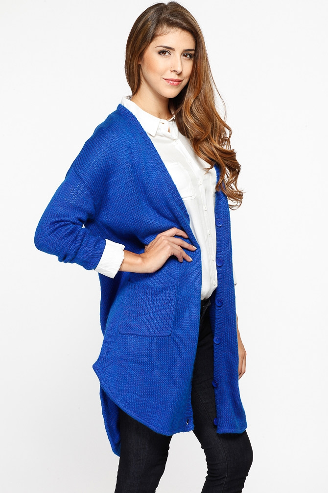 Royal Blue Cardigan Wardrobemag Com