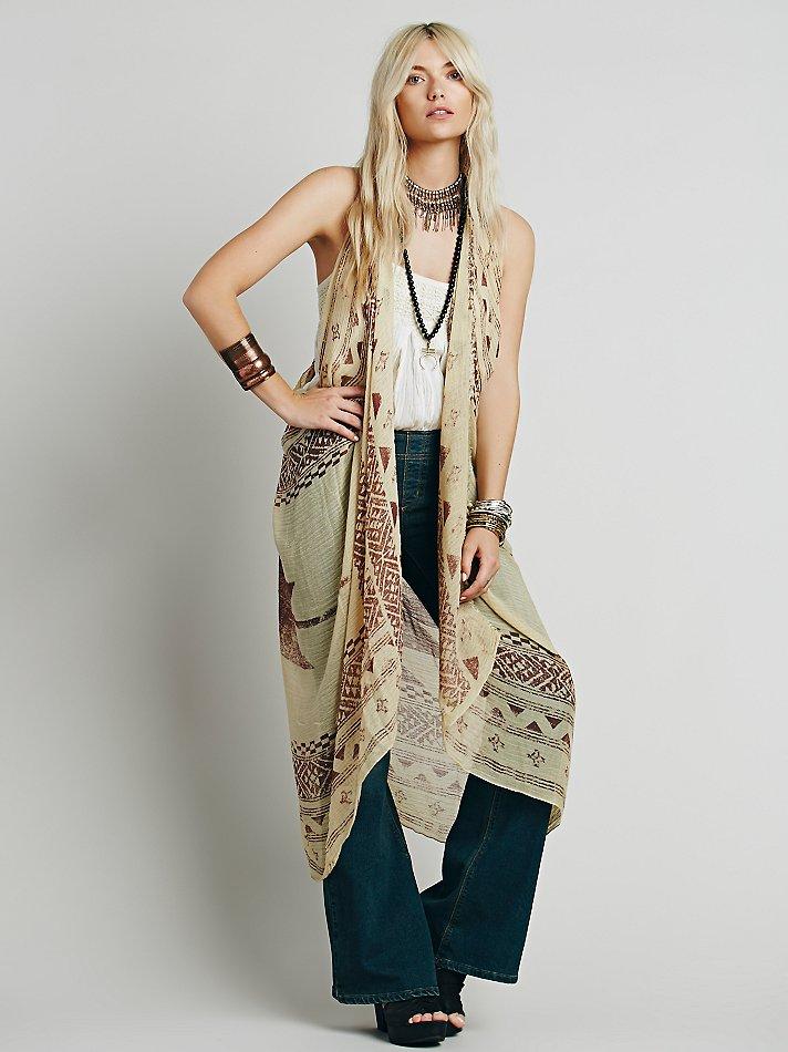 Sleeveless Kimono Wardrobe Mag