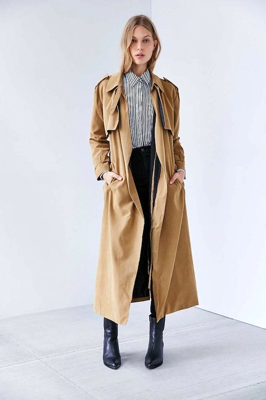 Khaki Trench Coat Wardrobe Mag